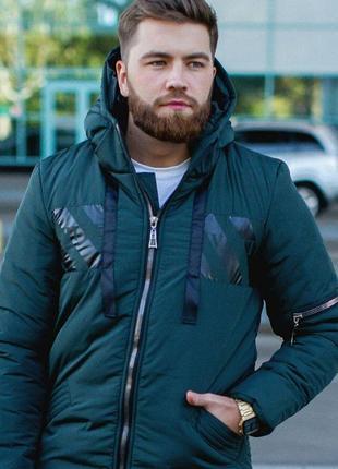 Куртка парка мужская зима