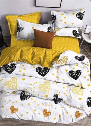 Комплект постельного белья сердце