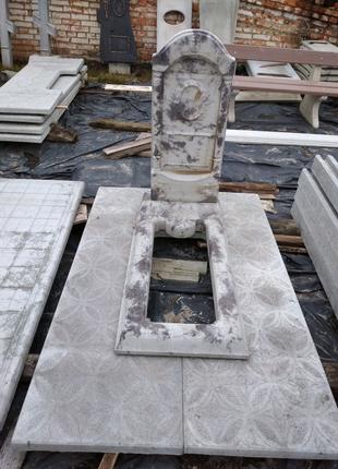 Плита протиусадочна під пам'ятник, модуль,основа .