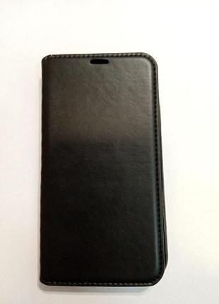 Книжка чехол эко кожа IPhone XR черный