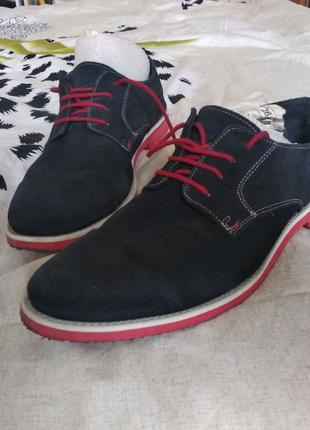 Туфли замшевыеBally