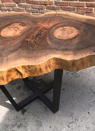 Журнальный столик, слеб, лофт