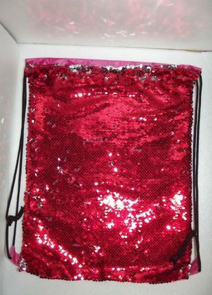 Новый рюкзак для сменки, мешок для обуви