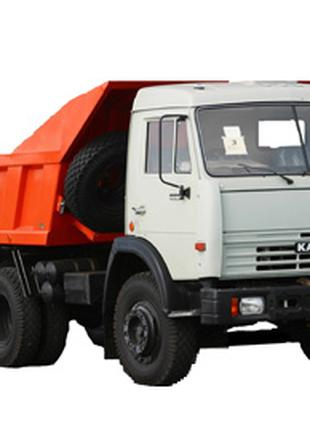 Вывоз строительного мусора, грунта и снега самосвалами до 12 куб.
