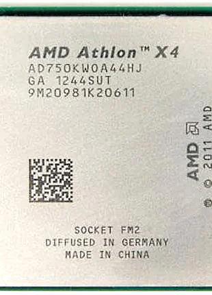 AMD Athlon x4 750K 4.0 Ghz Turbo, сокет FM2, FM2+