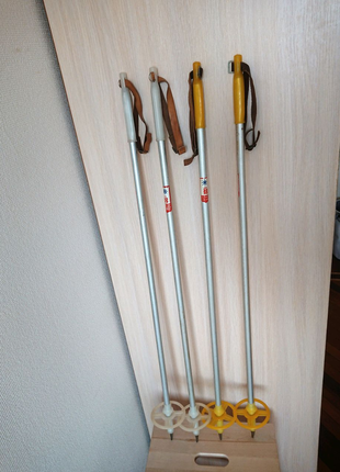 Лыжные палки детские, 1 м. Лыжные палки для ребенка