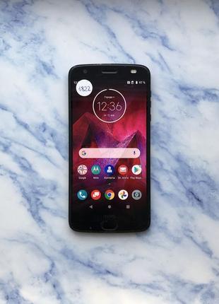 Motorola Moto Z2 Force Black 64 Gb xt1789-01 (#1822)