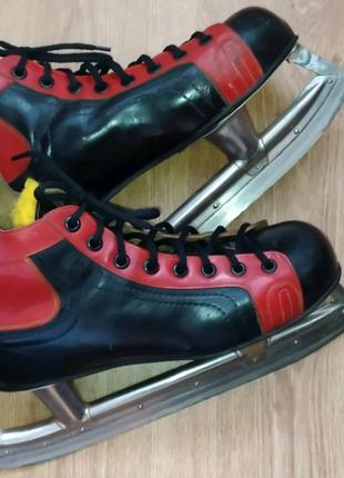 Коньки хокейные винтажные СССР