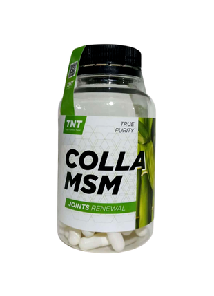 Морской коллаген COLLA-MSM Target Nutrition Poland 90 капсул