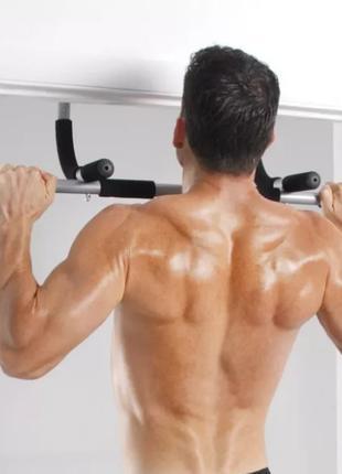 Турник для дома Айрон джим брусья Iron Gym тренажер в дверной про