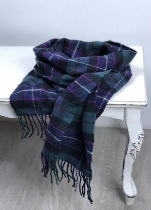 Теплый фирменный шарф