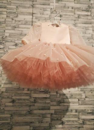 Красивое нарядное платье детское для вашей принцессы