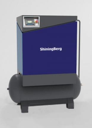 Компрессор роторный ShiningBerg -15T с 300 л ресивером