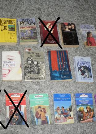 Книжки на англійській мові (романы на английском языке)