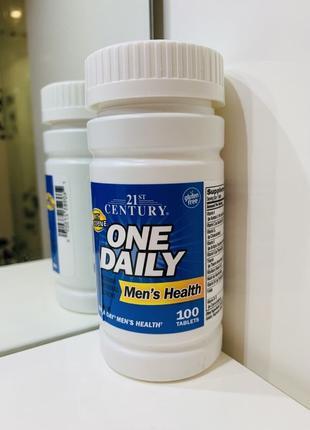 Купить мультивитамины для мужчин One Daily, 21st Century, РАСП...