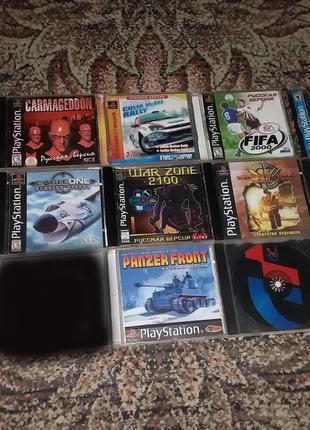 Диски одним лотом Игра PS1 Sony Playstation 1 ps one диск game