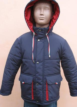 Зимняя курточка на мальчика размер 104/110