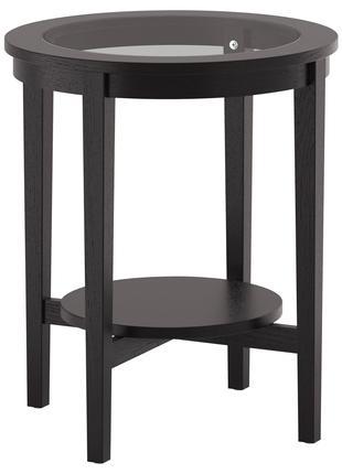 Журнальний столик, темно-коричневий MALMSTA