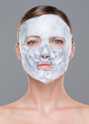 Пузырьковая маска, кислородная экспресс-маска для лица «матиро...