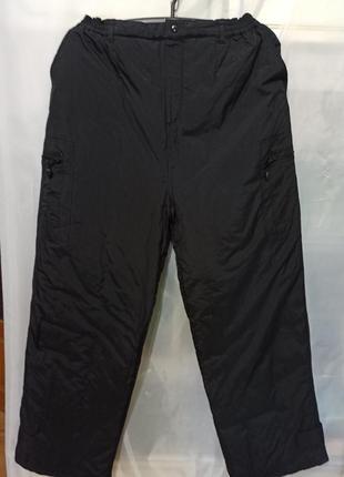 Мужские брюки спортивные штаны. теплые зимние на синтепоне. цв...
