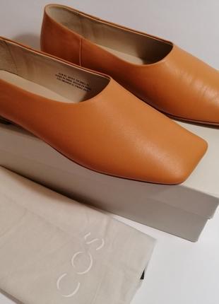 Туфли балетки COS