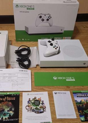 Игровая Приставка Xbox one S 1TB + 25 Игр