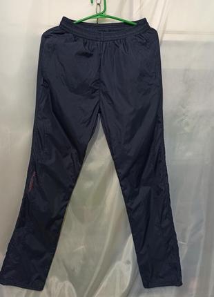 Женские брюки спортивные штаны. плащевка (болонька) на флисе. ...