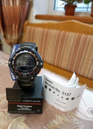Часы Casio SWG - 100 2BER с Америки
