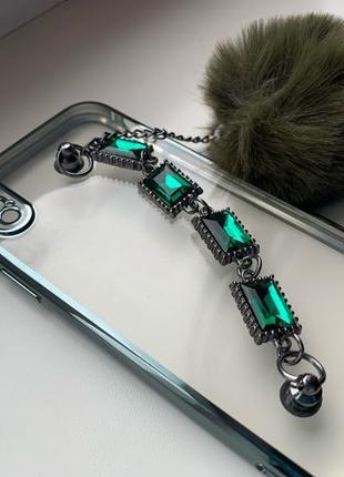 Эксклюзивный чехол на Iphone Айфон X Xs с камнями новый
