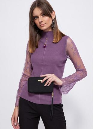 Цвета 🥰 свитер фиолетовый