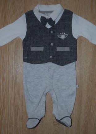 Нарядный человечек Baby Doll. 0 - 3 месяца. Турция