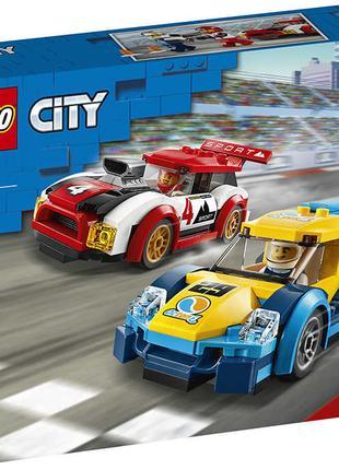 Конструктор лего сіті LEGO City Гоночні автомобілі 60256