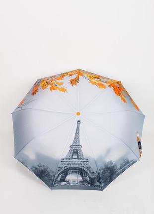 Зонт полуавтомат женский антиветер
