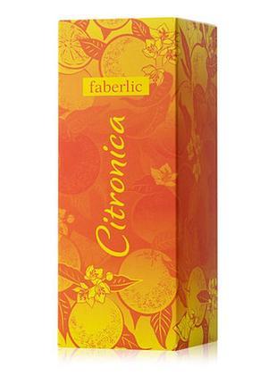 Faberlic 3008 парфюмерная вода для женщин citronica