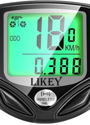 спидометр на велосипед likey bicycle
