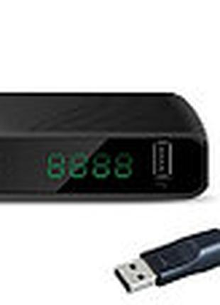 Тюнер Т2 World Vision T62D2 + Wi-Fi адаптер ANT MT7601 2DB