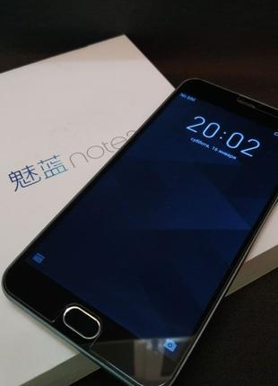 Смартфон, Телефон Meizu M2 Note 16gb