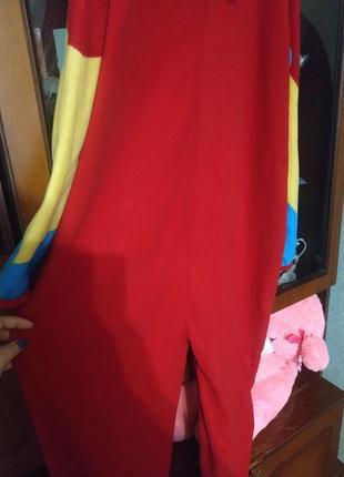 Флисовый слип пижама большой размер кигуруми