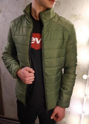 Мужская зеленая весенняя куртка асос