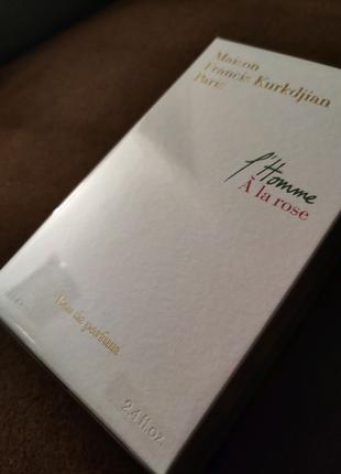 Francis Kurkdjian L'Homme À la rose