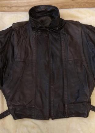 Мужская кожаная куртка. пр-во испания