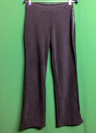 Теплые спортивные флисовые штаны nike (m)
