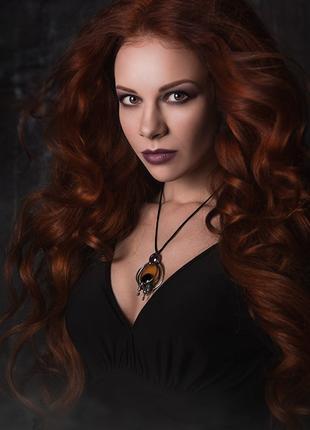 Костюм Ведьмы, Колдуньи - черное платье, Хэллоуин