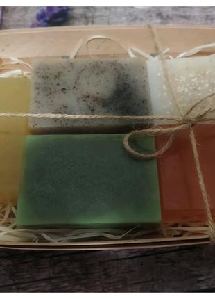 Набор из натурального мыла