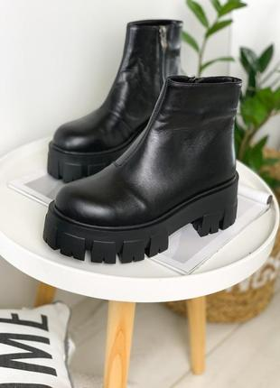 Новинка! ботинки на массивной подошве