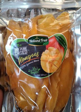 Манго Holland Fruit 500 г сушеный без сахара