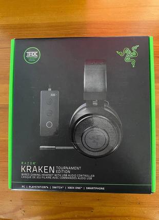 Razer Kraken Tournament Edition - лучшие игровые наушники с микро