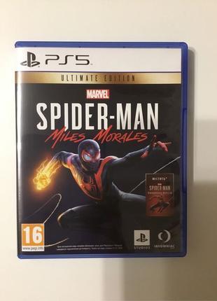 Человек Паук Майлз Моралес / Spider Man Miles Morales PS5 диск