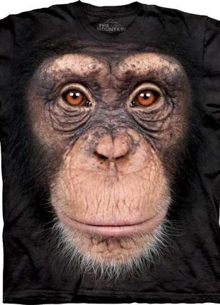 Американская мужская футболка с 3д рисунком обезьяны the mount...