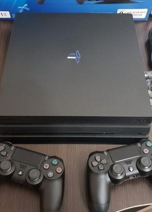 Игры Игровая Приставка Sony Playstation 4 Pro 1TB